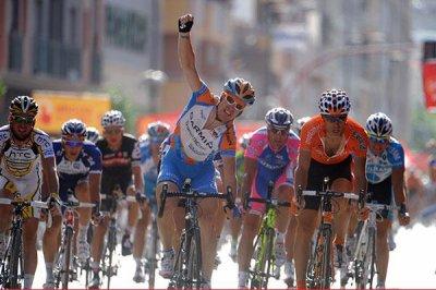 Résultats  de la Vuelta ( de la 1ere à la 6è étape )
