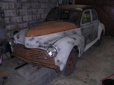 Eclairage et signalisation ........................Peugeot 203 de 1949