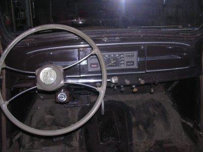 Equipement électrique intérieur .......................Peugeot 203 de 1949