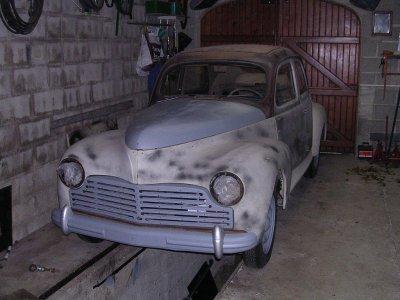 Les roues....................Peugeot 203 de 1949