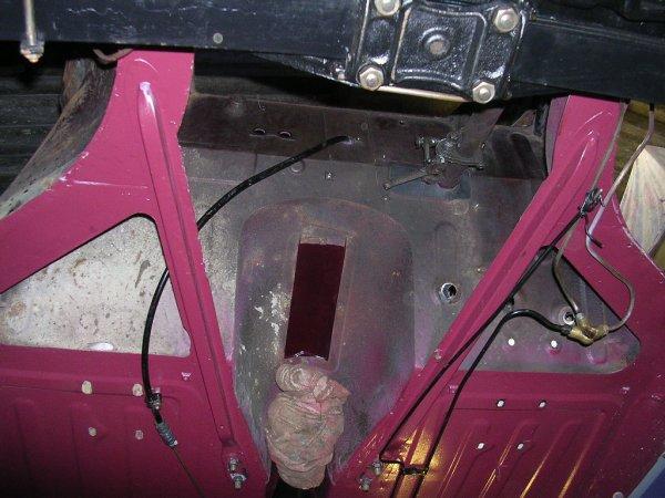 Dépose du moteur et de la boite