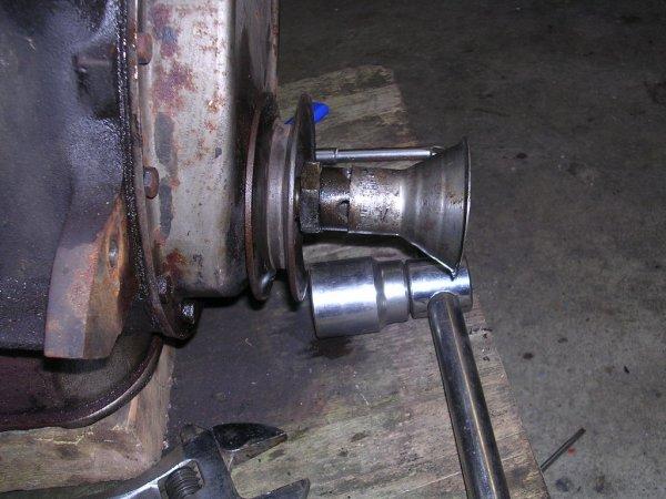 Démontage moteur première partie