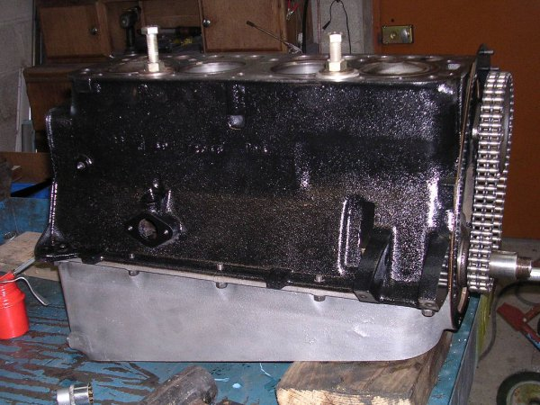 Remontage moteur