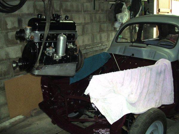 Remontage moteur et boite