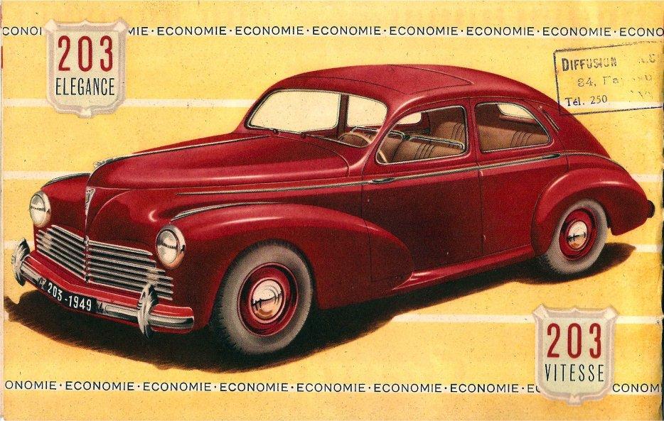 Peugeot 203 de 1949