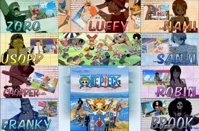 One Piece divers 1