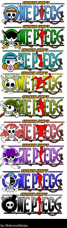 One Piece divers 3