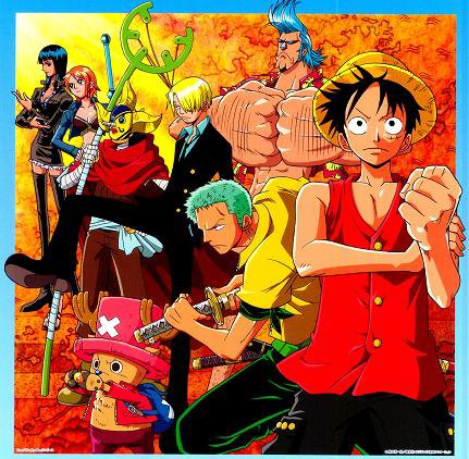 One Piece divers 17