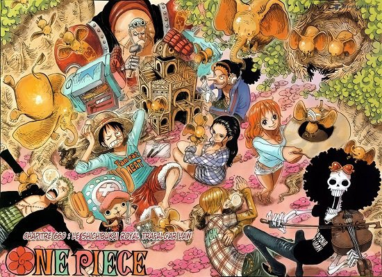 One Piece divers 21