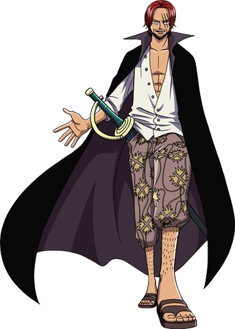 One Piece divers 25 (Shanks)