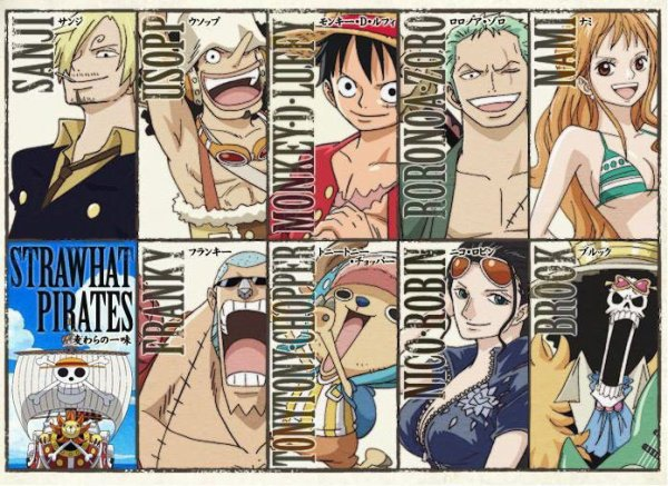 One Piece divers 39