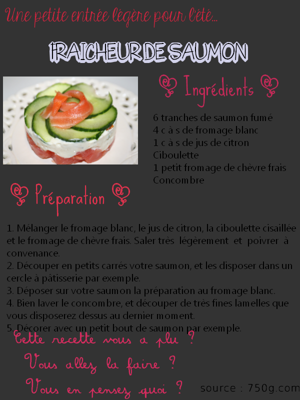 #05 recette saumon fumé