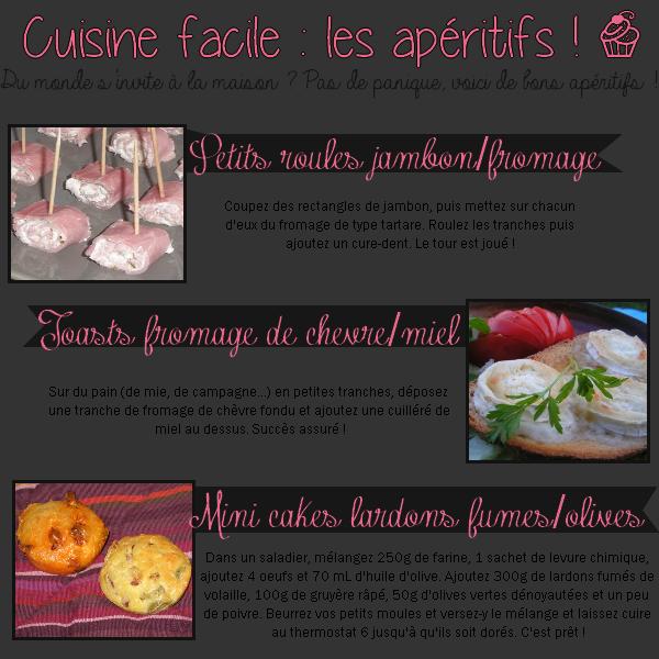 #22 - Cuisine : Petits apéritifs !
