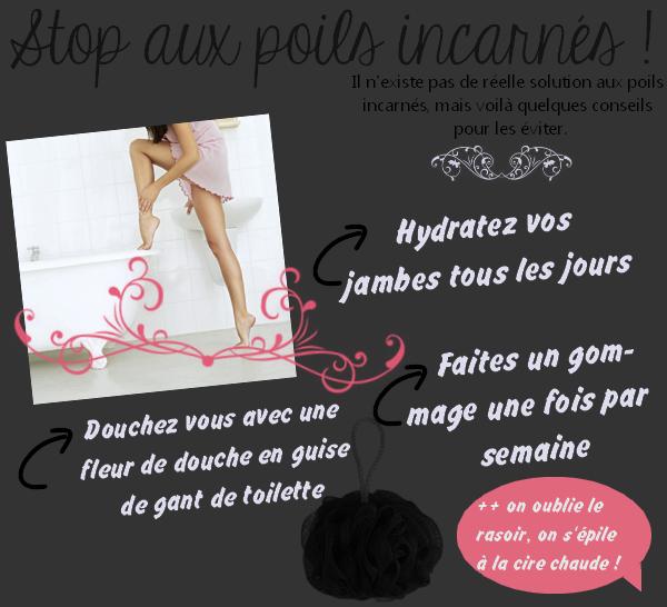 Stop aux poils incarnés !