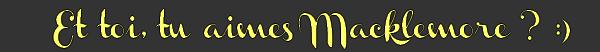 ACTUALITE Macklemore