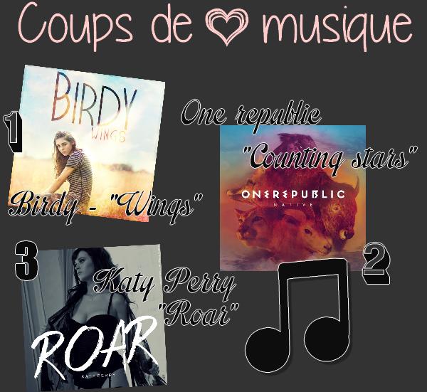 Coups de ♥ MUSIQUE !