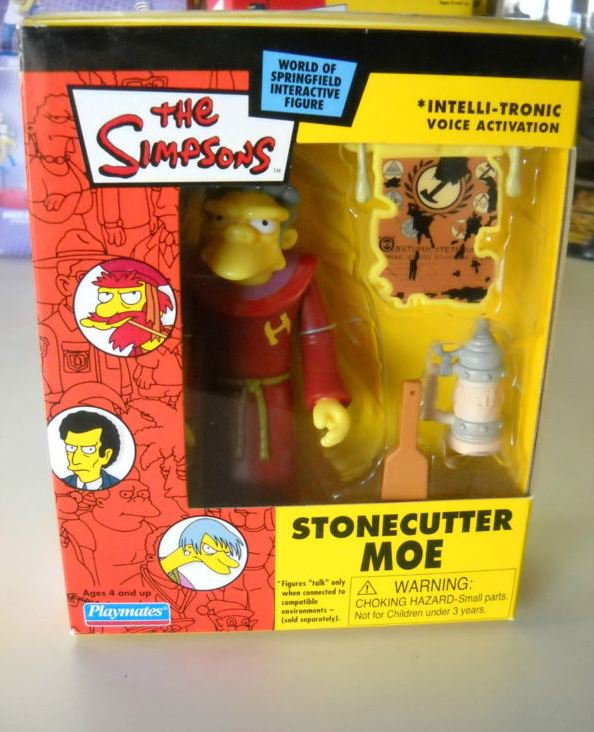 Playmates Moe Stonecutter