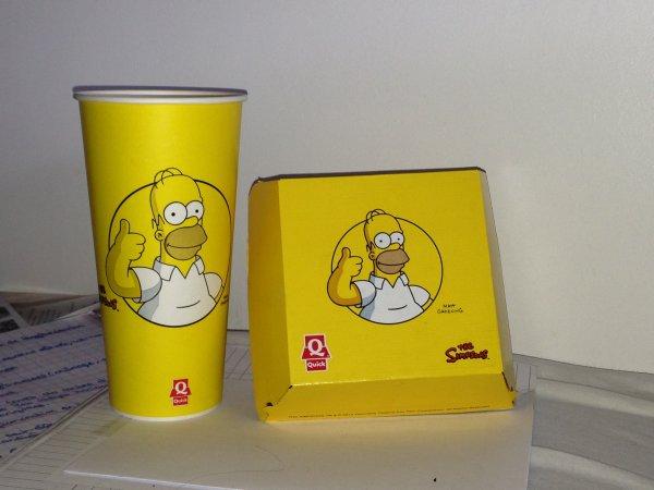 Les Simpson de retour chez Quick !