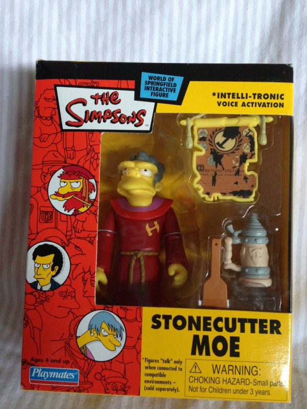 Moe Stontcutter et Homer marge arrivés !