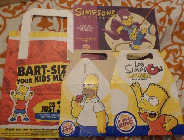 Lot d'emballage Burger King