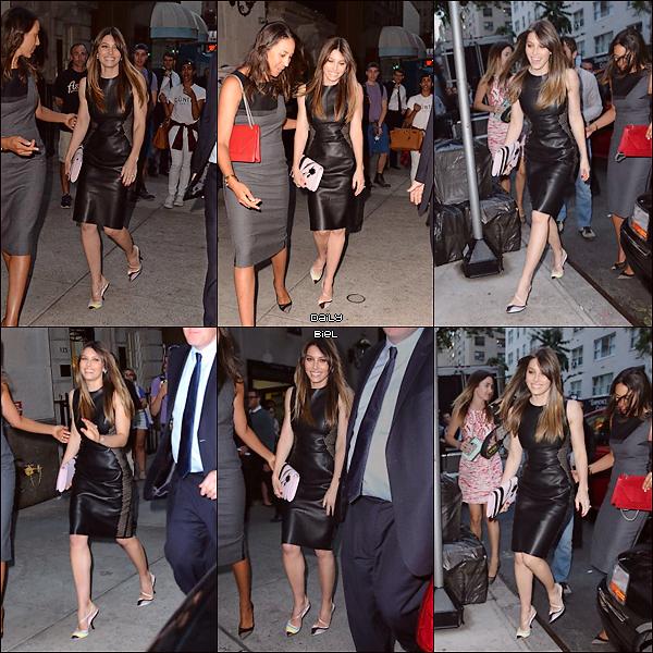 """Le 06/09 : Jessica était présente à l'événement """"Fashion Media Awards"""" organisé par The Daily Front Row dans le cadre de la Fashion Week de New York"""