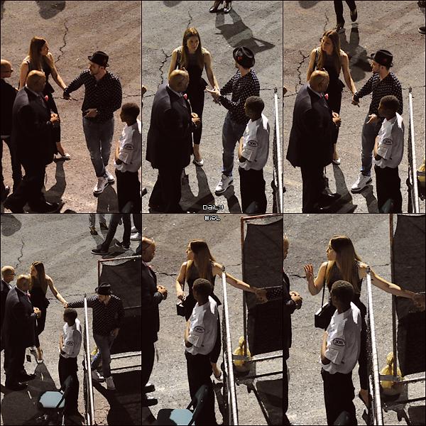 """Le 21/09 : Jessica a été aperçue arrivant avec JT au """"iHeart Radio Festival"""" à Las Vegas (Justin y faisait une prestation)"""