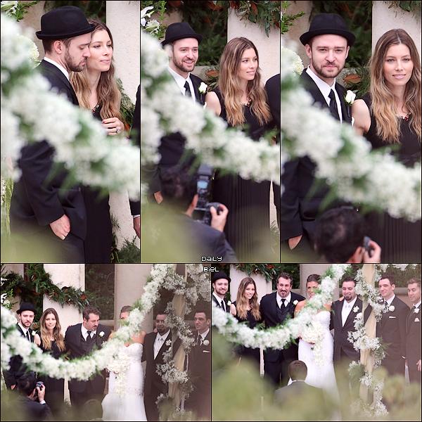 Le 02/11 : Jessica, avec Justin, a été aperçue au mariage de Chris Kirkpatrick (membre de l'ancien groupe 'NSYNC de Justin) à Orlando