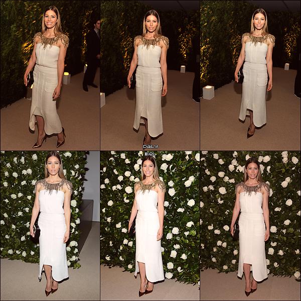 """Le 06/11 : Jessica était présente à l'événement """"The Museum Of Modern Art 2013 Film Benefit"""" organisé en l'honneur de Tilda Swinton à New York"""