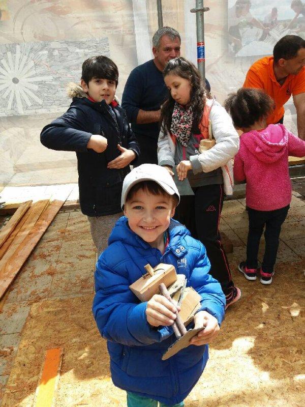 Merci à tous les artisans, compagnons, passionnés des Métiers du patrimoine pour leur accueil et leur patience auprès de nos petits élèves ?