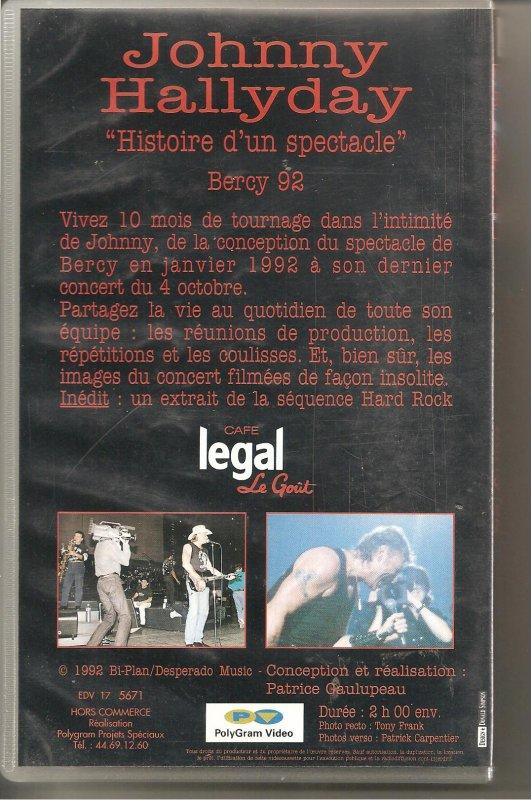 v.h.s 1992