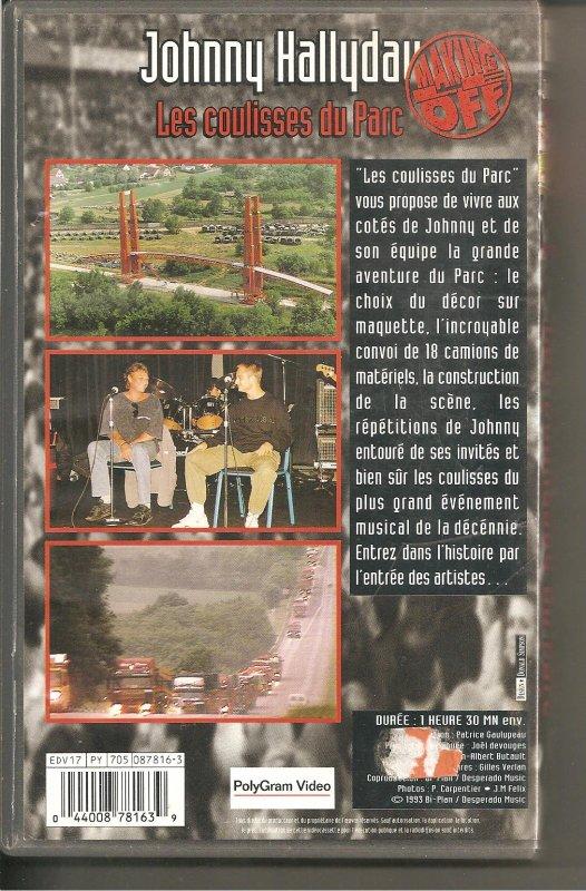 vhs parc des prince 1993