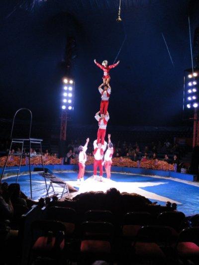 cirque avec justin