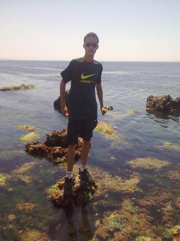 j suis a la plage