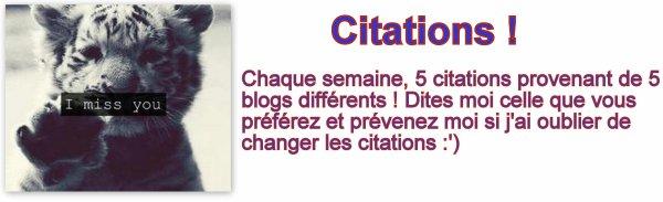 Coins citations !