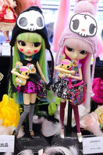 Pullip lunarosa ( collaboration tokidoki )