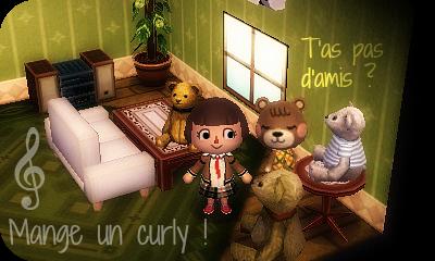 T'as pas d'amis ? Mange un curly !