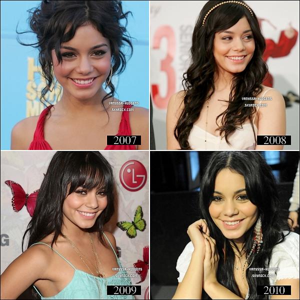. Evolution de Vanessa de 2007 à 2010___Vous préférez quelle(s) année(s) ?  .