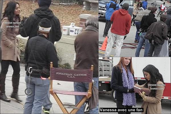 . Voici des photos récentes de Ness' sur le tournage de « Journey 2 : The Mysterious Island » à Wilmington. .