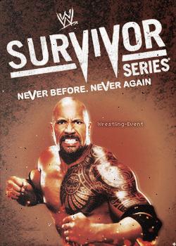 Affiche du Prochain PPV : WWE Survivors Series 2011