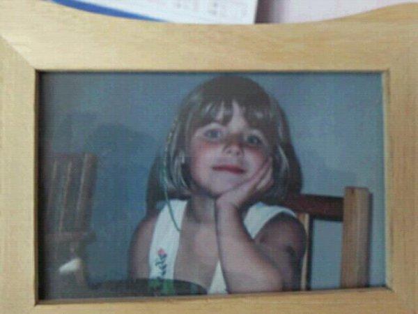 moi quand j'était petite ^^