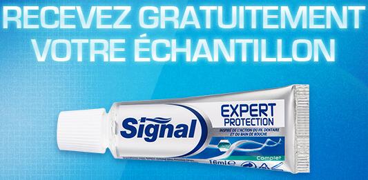 Echantillon ! Merci signal !