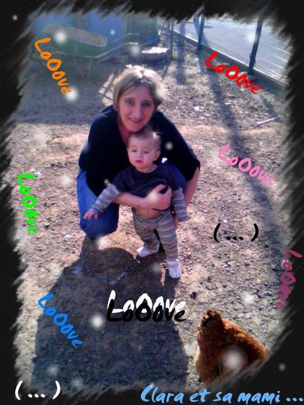 Ma petite fille et moi ♥