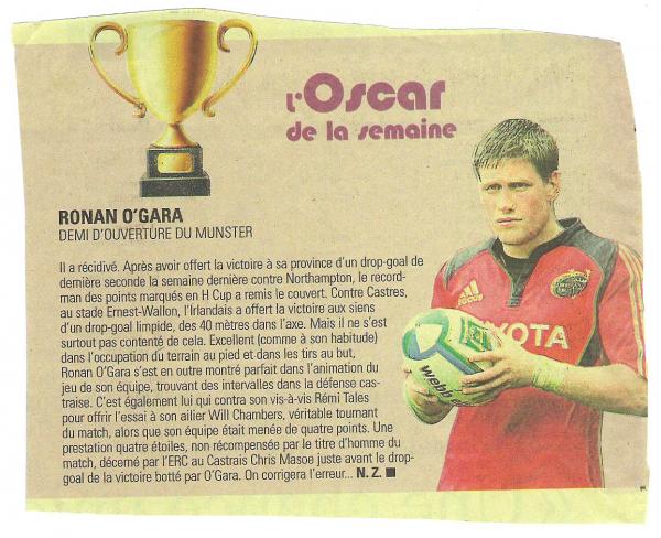 Ronan O'GARA ♥