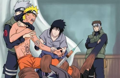 Naruto écoute sasuke!!!