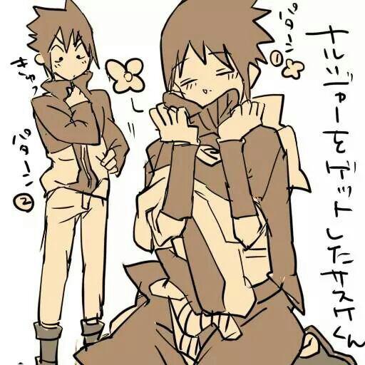 Sasuke ont ta cramé !!