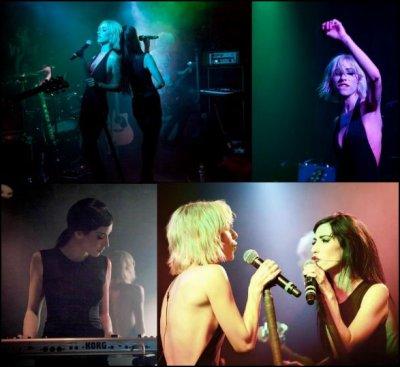 Voilà des photos posté sur le Facebook du groupe. Majoritairement prise par Catie Laffoon.