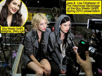 The Veronicas Interview at the Fashion Week