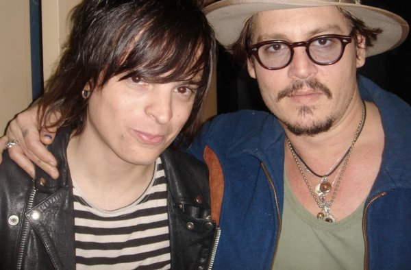 Jungle & Johnny Depp.