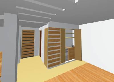 cuisine cach e zakdesign architecture et decoration. Black Bedroom Furniture Sets. Home Design Ideas