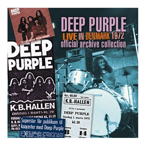 Deep Purple - Made In DK (Live 1972)